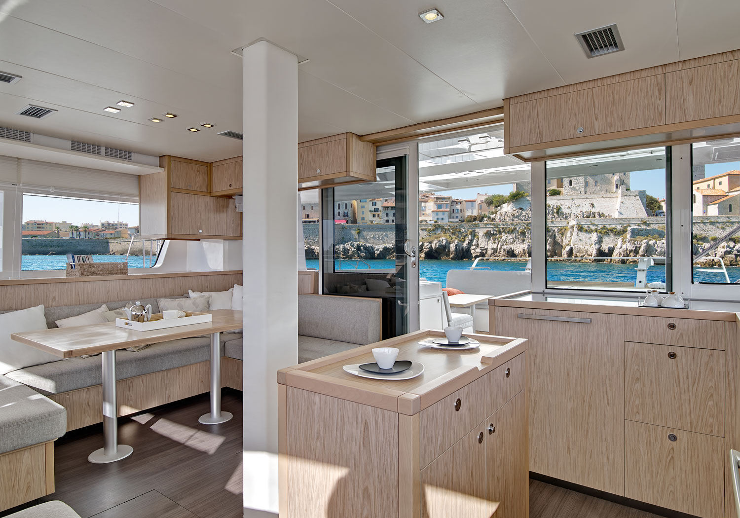 Lagoon 52 - Interior design materials and specifications ...